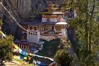 Taksang Monastery near Paro, Bhutan Fine Art Print