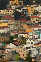 Suburb of Bo-Kaap, Cape Town, South Africa Fine Art Print