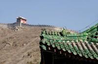The Great Wall of China at Juyongguan, Beijing, China Fine Art Print