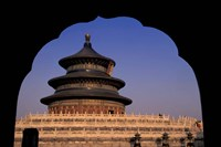 Temple of Heaven, Beijing, China Fine Art Print