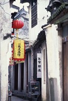Traditional Architecture in Ancient Watertown, China Fine Art Print