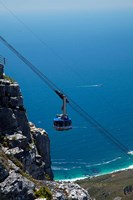 Table Mountain Aerial Cableway, Cape Town, South Africa Fine Art Print
