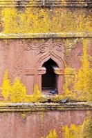 The rock-hewn churches of Lalibela, Ethiopia Fine Art Print