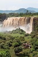 Tis Isat, waterfall, Blue Nile, Ethiopia Fine Art Print
