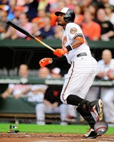 Adam Jones 2014 baseball Fine Art Print