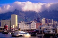 Victoria and Alfred Waterfront, Cape Town, South Africa Fine Art Print