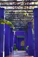 Villa Courtyard, Marrakech, Morocco Fine Art Print