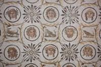 Tunisia, El Jem, El Jem Museum, Roman-era mosaic Fine Art Print
