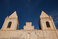 Tunisia, Jerba Island, Houmt Souq, Christian church Fine Art Print