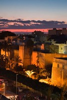 Tunisia, Sfax, Medina along Avenue Ali Belhouane Fine Art Print