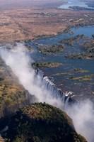 Victoria Falls, Zambesi River, Zambia Fine Art Print