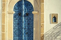 Traditional Door Decorations, Tunisia Fine Art Print