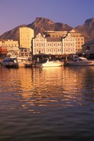 Victoria and Albert Waterfront Center, Cape Town, South Africa Fine Art Print