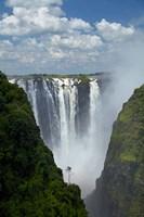 Victoria Falls, Mosi-oa-Tunya, Zimbabwe, Africa Fine Art Print