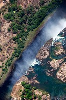 Zimbabwe, Victoria Falls, border of Zambia/Zimbabwe Fine Art Print