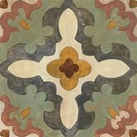 Andalucia Tiles B Color Framed Print