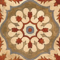 Andalucia Tiles C Color Framed Print