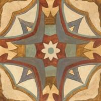 Andalucia Tiles E Color Framed Print