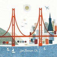 Colorful San Francisco Fine Art Print