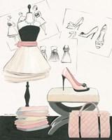 Dress Fitting I Framed Print