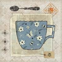 Garden Cafe IV Fine Art Print