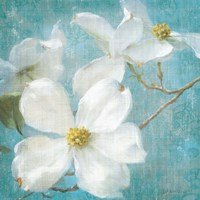 Indiness Blossom Square Vintage I Fine Art Print