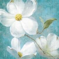 Indiness Blossom Square Vintage IV Fine Art Print