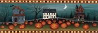 Halloween Eve Crescent Moon Fine Art Print