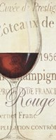 Les Rouge Framed Print