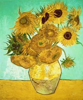 Sunflowers, 1888 Fine Art Print