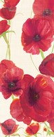Red and Orange Poppies II Crop II Fine Art Print
