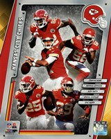 Kansas City Chiefs 2014 Team Composite Fine Art Print