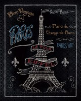 Travel to Paris I Framed Print