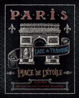 Travel to Paris II Framed Print