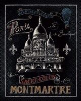 Travel to Paris III Framed Print