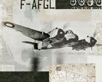 Wings Collage III Fine Art Print