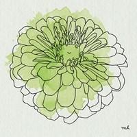 Watercolor Floral I Fine Art Print