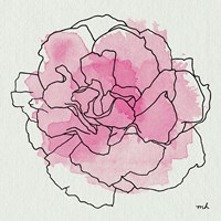 Watercolor Floral III Fine Art Print
