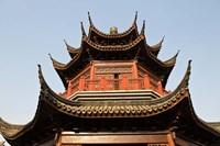 China, Suzhou. Pagoda along Shan Tang Street. Fine Art Print
