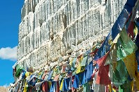 Prayer Flags, Leh, Ladakh, India Fine Art Print