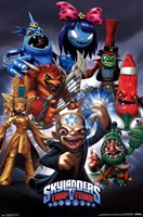 Skylanders Trap Team - Super Villains Wall Poster