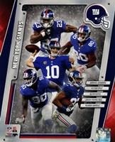 New York Giants 2014 Team Composite Fine Art Print