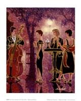 Les 3 soeurs Fine Art Print