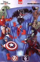 Disney Infinity 2.0 - Collage Wall Poster