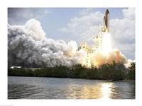 Space Shuttle Atlantis Fine Art Print