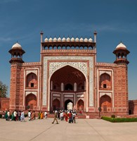 The Royal Gate, Taj Mahal, Agra, India Fine Art Print