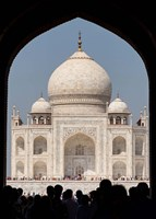 The Royal Gate detail s, Taj Mahal, Agra, India Fine Art Print