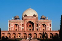 Humayun's Tomb, Delhi, India Fine Art Print