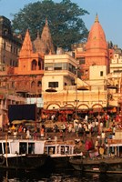 The Ganges River in Varanasi, India Fine Art Print