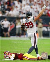 J.J. Watt 2014 Action Fine Art Print